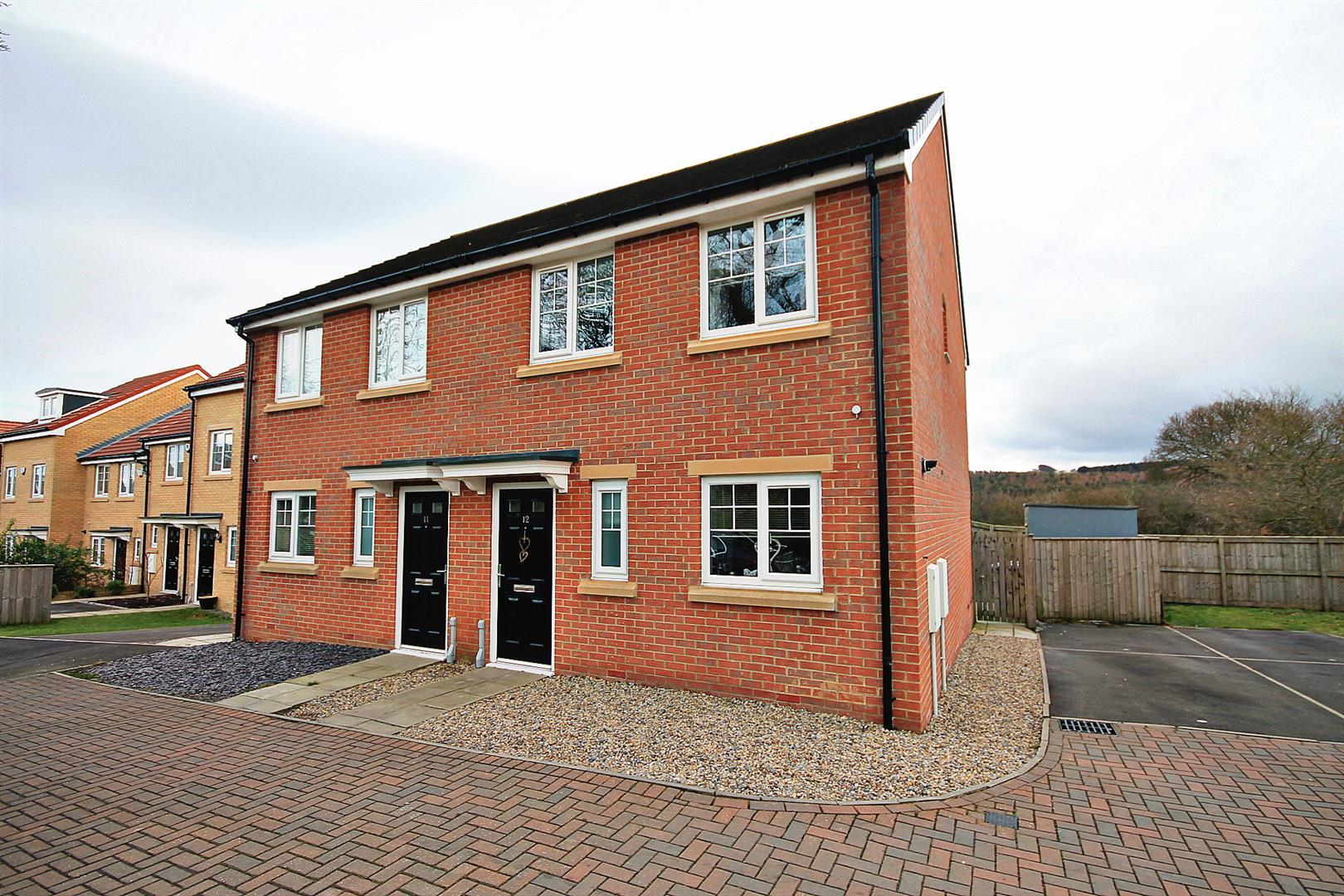 3 Bedrooms Semi Detached House for sale in Laurel Court, Esh Winning, Durham